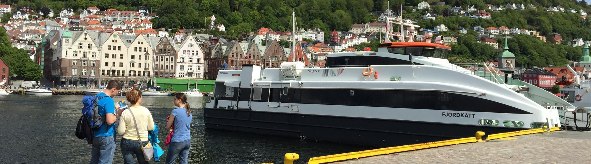 Bergen - lett å nå