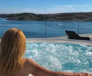 Reis på en workation i Bergensregionen - utsikt over sjøen fra Panorama hotel