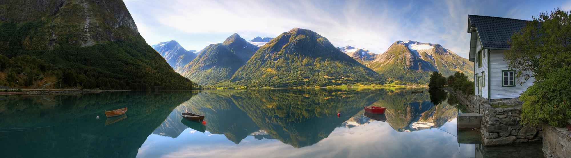 Das Tor zu den Fjorden Norwegens