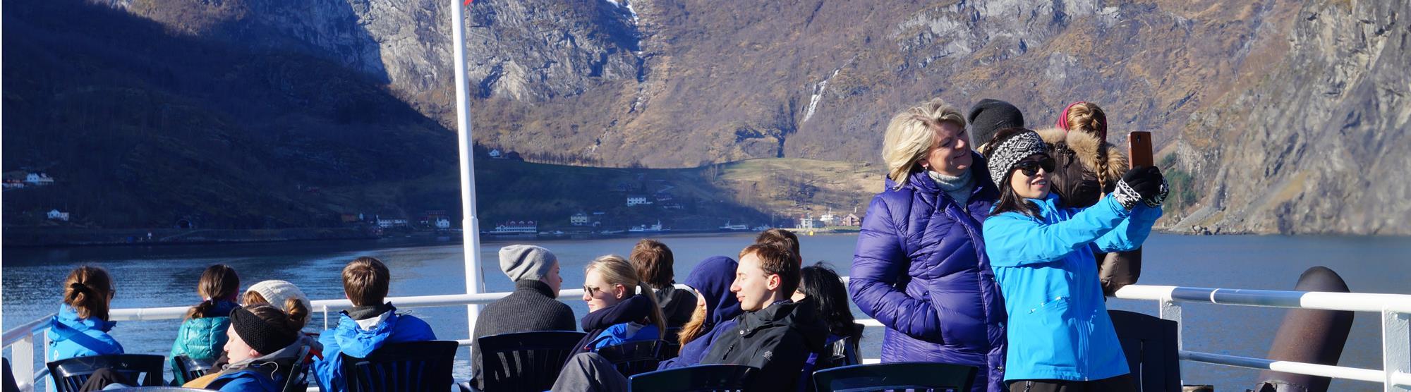 Fjordkreuzfahrten im Winter