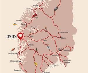 Alle veier fører til Bergen i sommer|