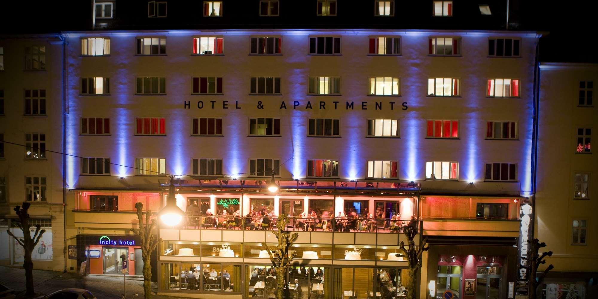 Ole Bull Hotel & Apartments - Midt i Bergen Sentrum