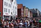 Se Bergen fra sykkelsetet