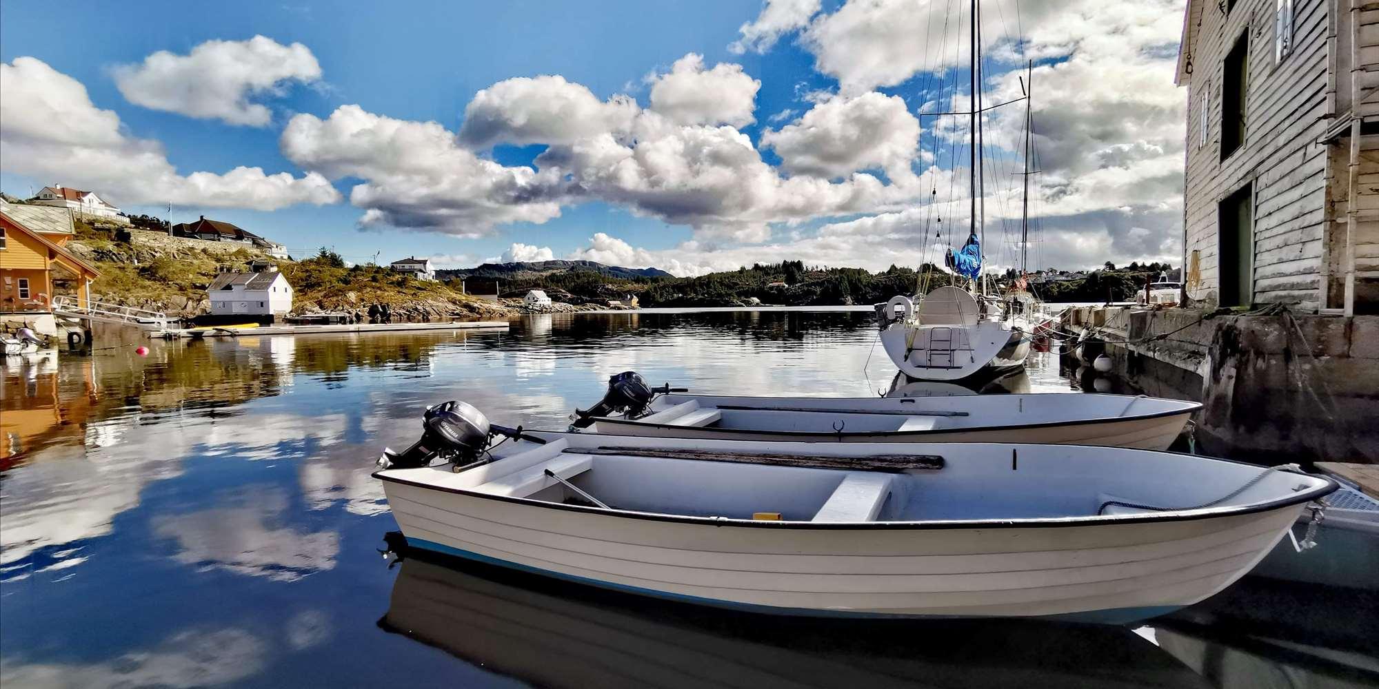 Glesvær Rorbu - 17ft boat