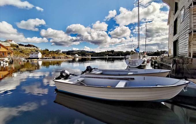 Glesvær Rorbu - 17ft båt