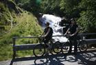 Cycling down to Flåm