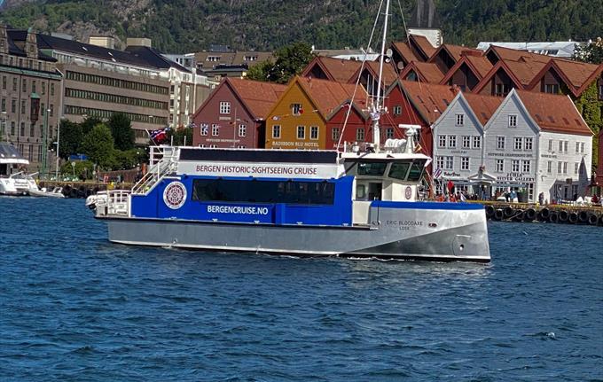 Fjordcruise from Bergen to Alverstraumen strait