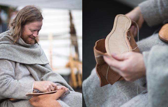 Byvandring i middelalderskomakerens fotspor