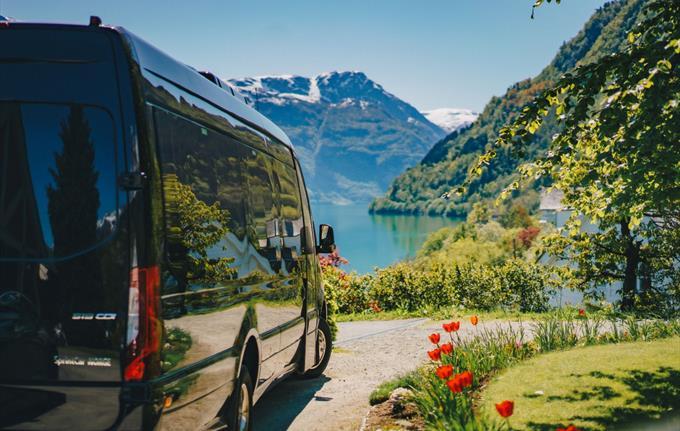 Utleie av minibuss Fjordrive
