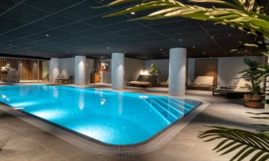 The Pool & Spa på Hotel Norge by Scandic