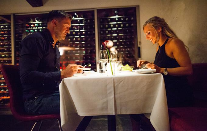 Dinner at the restaurant Altona Vinbar