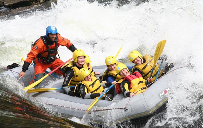 Rafting på Voss