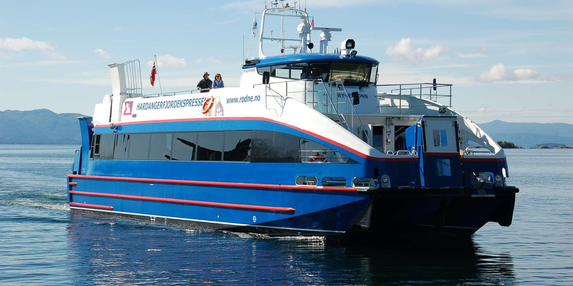 Boat Bergen - Rosendal