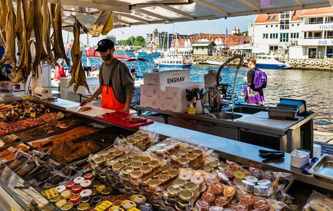 Fish Market in Bergen