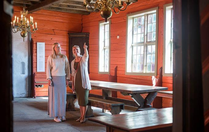Guided tour Schøtstuene