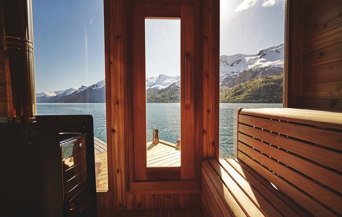 Heit Sørfjorden Sauna