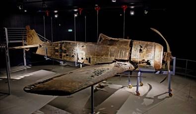 Det tyske jagerflyet gul-16 - Herdla Museum