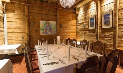 Finnegaarden private rooms - Room 1 for dinner