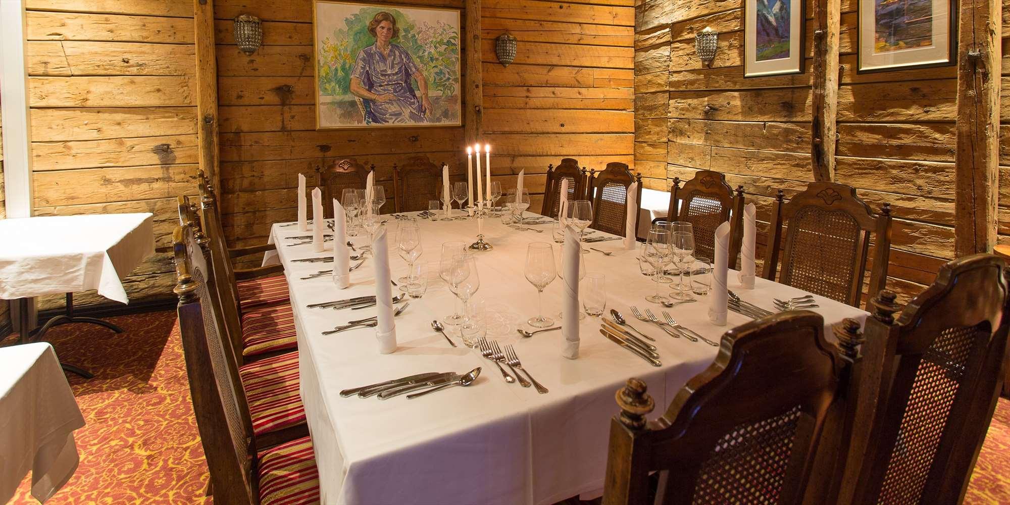 Finnegaarden Selskapslokaler - Stue 1 middag