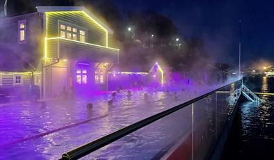 Nordnes sjobad vinterbading