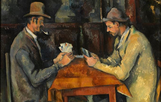 Paul Cézanne: Kortspillerne / The Card Players, cirka 1892-96.