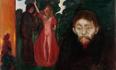Edvard Munch (1863-1944): Jealousy, 1895.