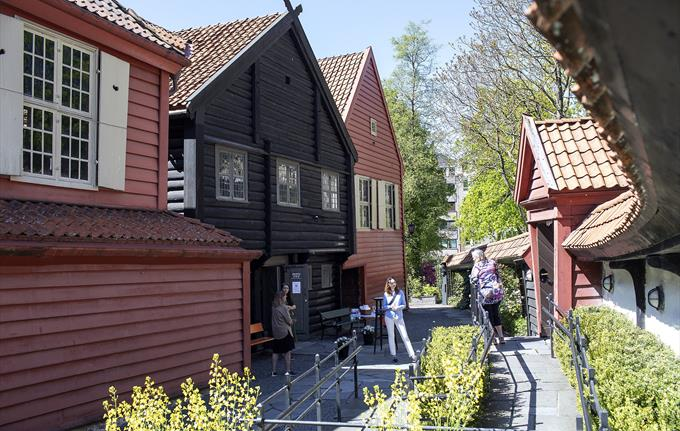 The Hanseatic Museum and Schøtstuene - Museum Vest