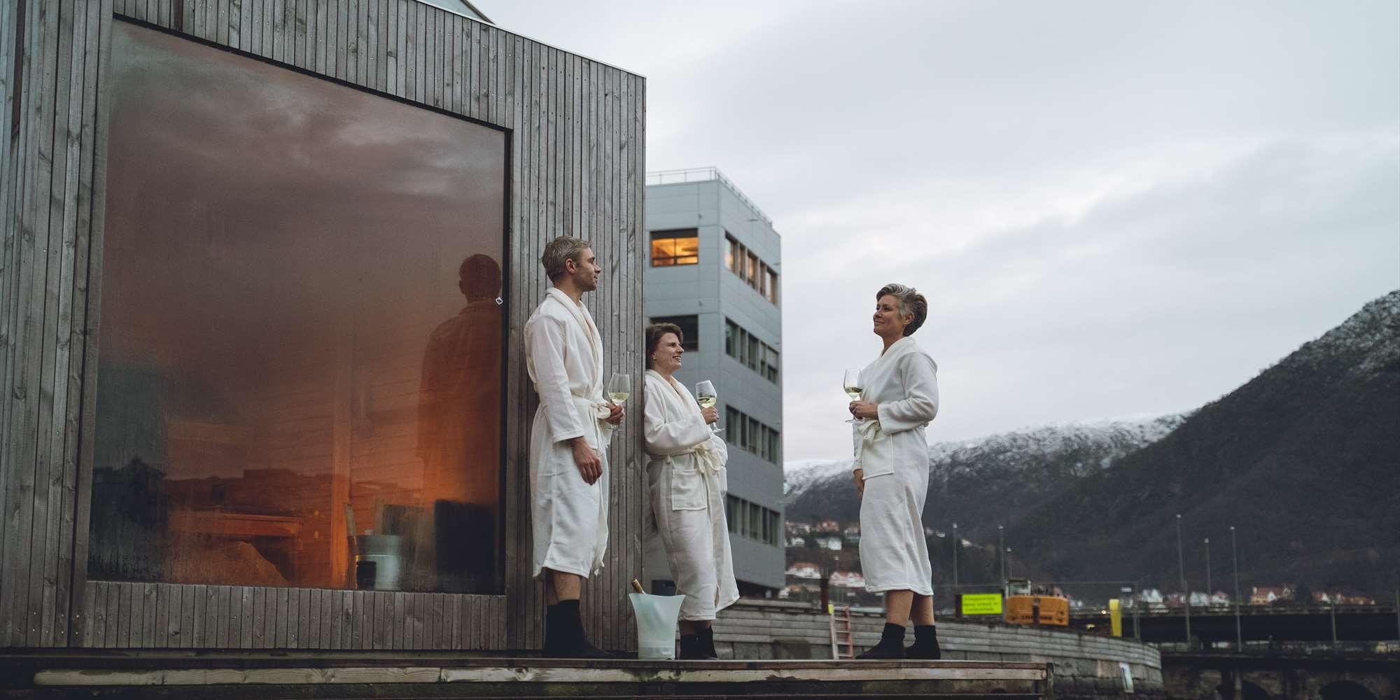 Heit Bergen Sauna as