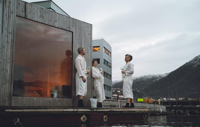 Heit Bergen Sauna