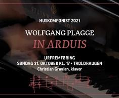 Konsert på Troldhaugen: Urfremføring av «In Arduis»