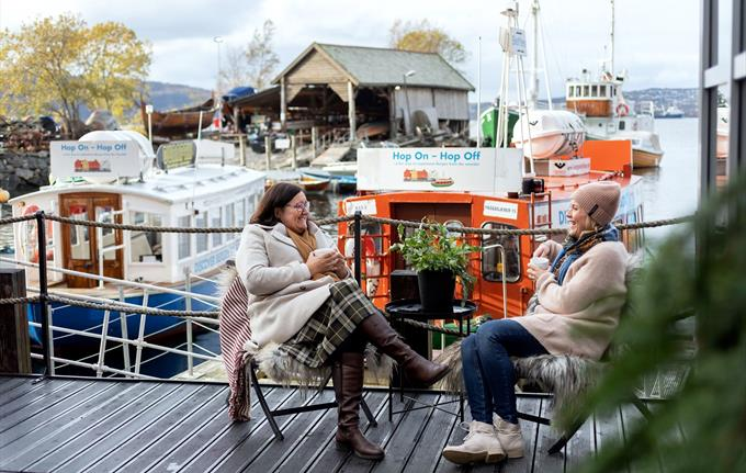 Veteranbåthavn ved BOD24 og museet
