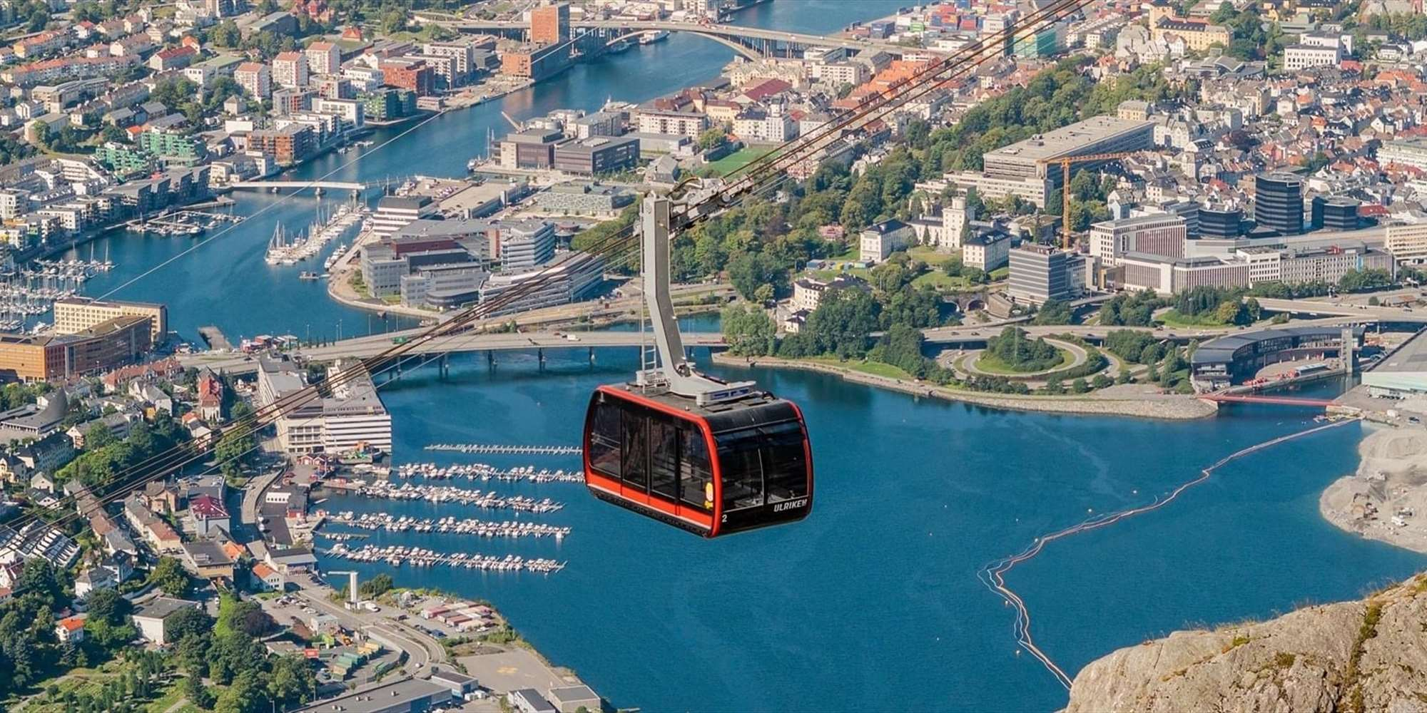 The new Ulriken cable car!