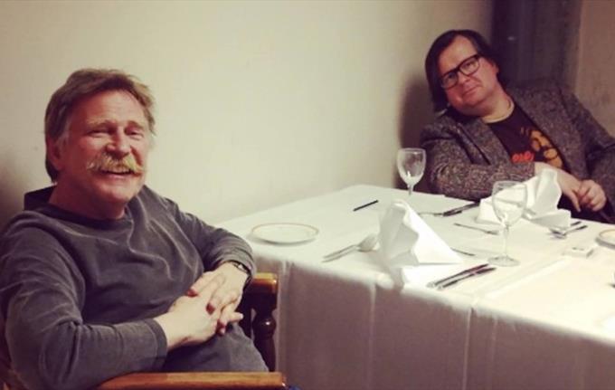 Olav Stedje og Finn Tokvam