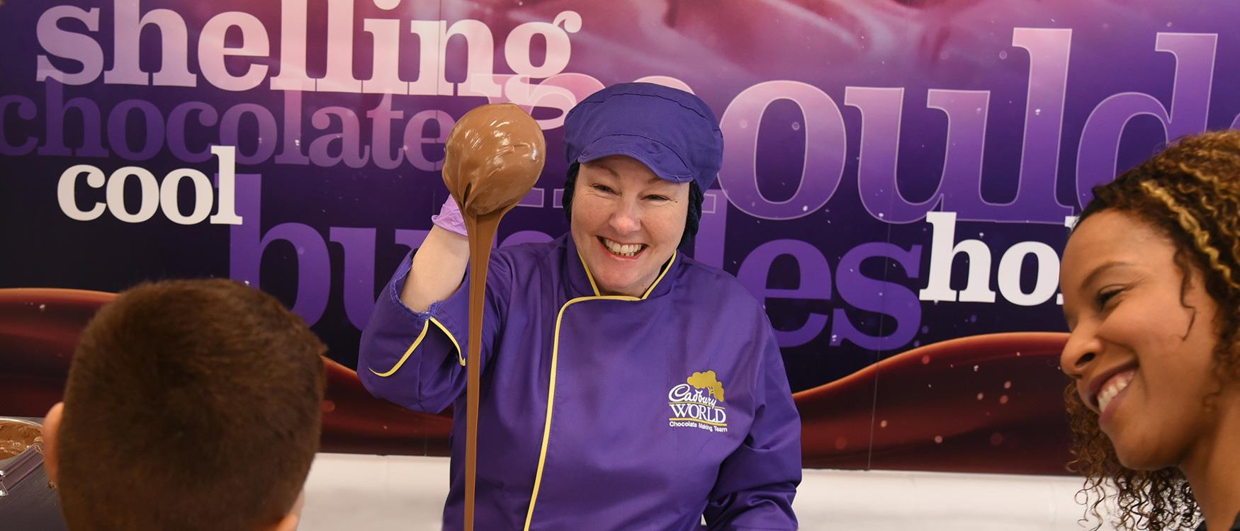 Cadbury World, Learn the history of the world-famous brand and see how the yummy stuff is made!