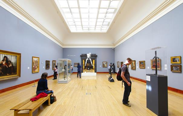 Take a tour inside Birmingham Museum and Art Gallery