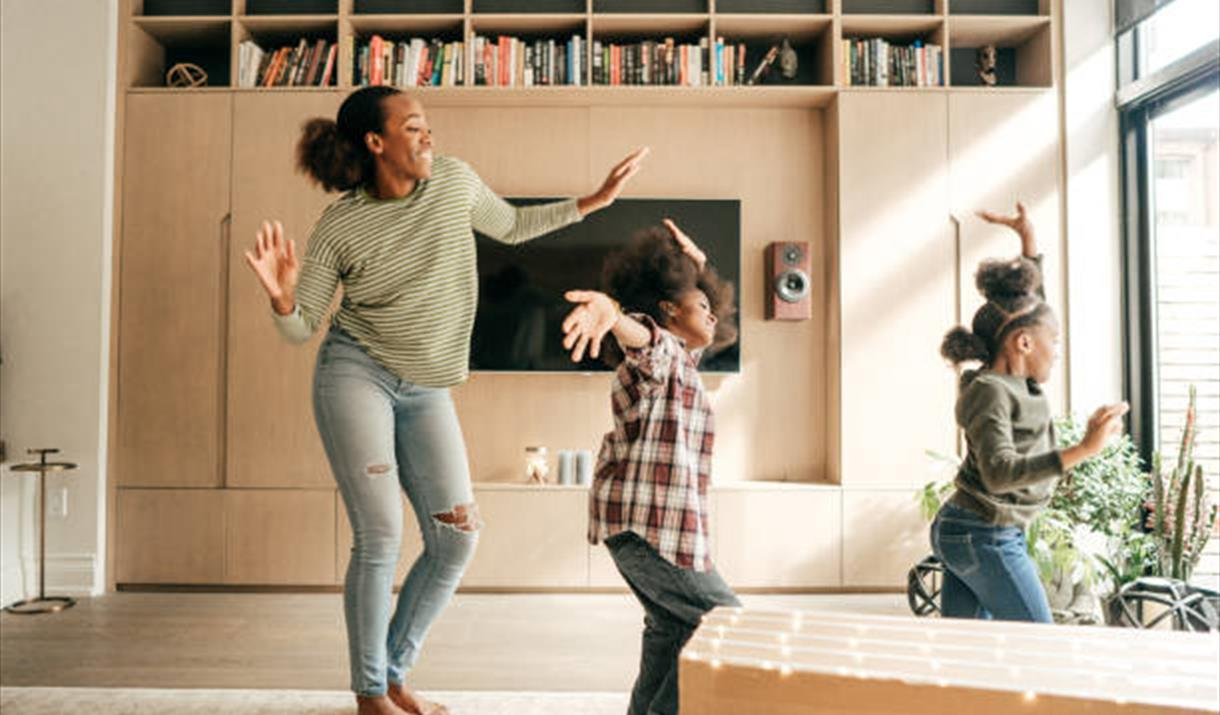 Dance Tales - Family Dance at home