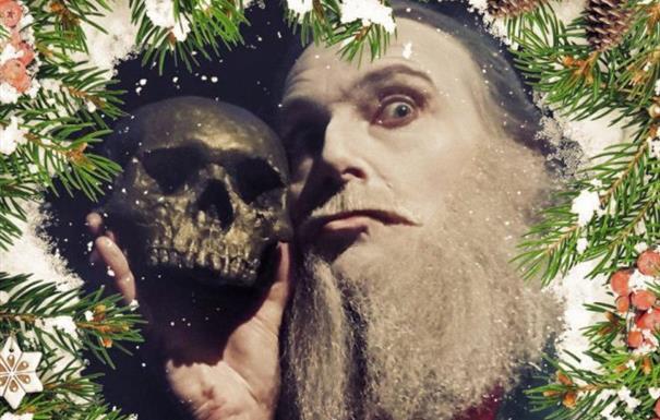 Jonathan Goodwin stars in A Wreath of Festive Frights