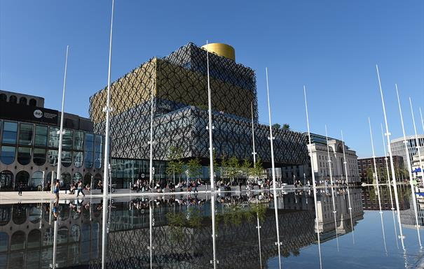 Self-Guided and Virtual Walking Tour - Birmingham's Central Squares