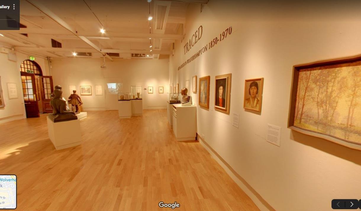 Wolverhampton Art Gallery free online resources