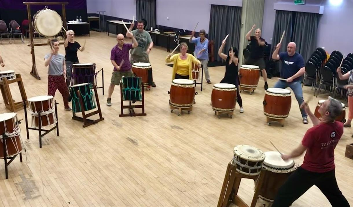 Wyre Forest Taiko Group Shot