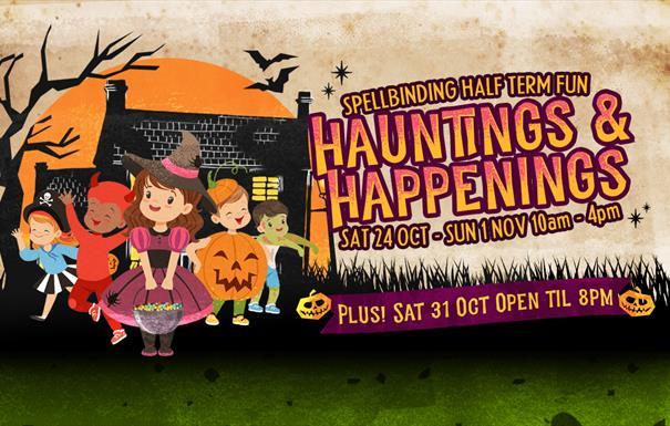 Halloween Half Term Hauntings and Happenings Artwork