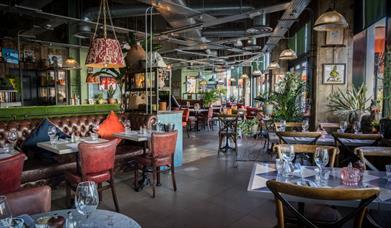 Bill's Restaurant and Bar interior
