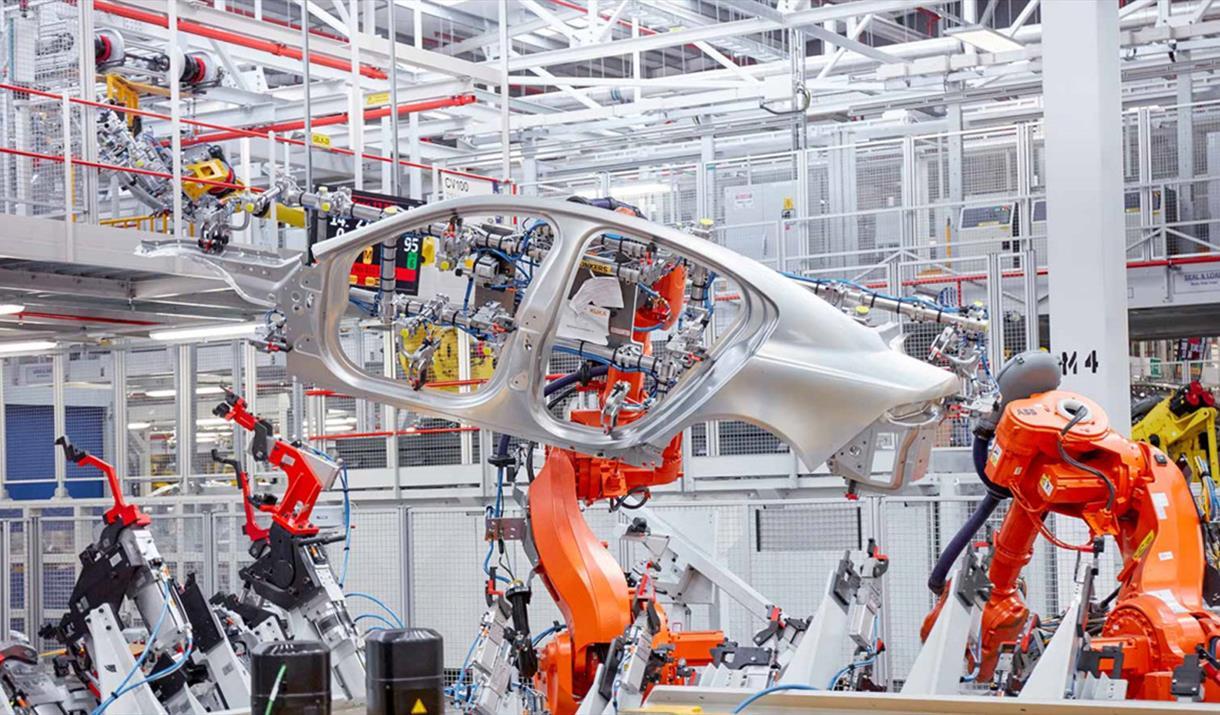 Jaguar Factory Tour