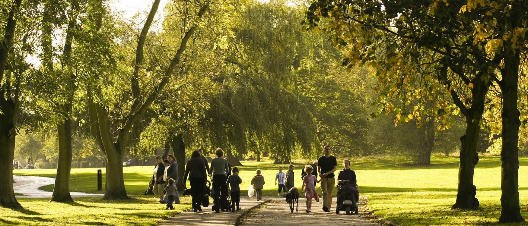 Explore Birmingham's green spaces...