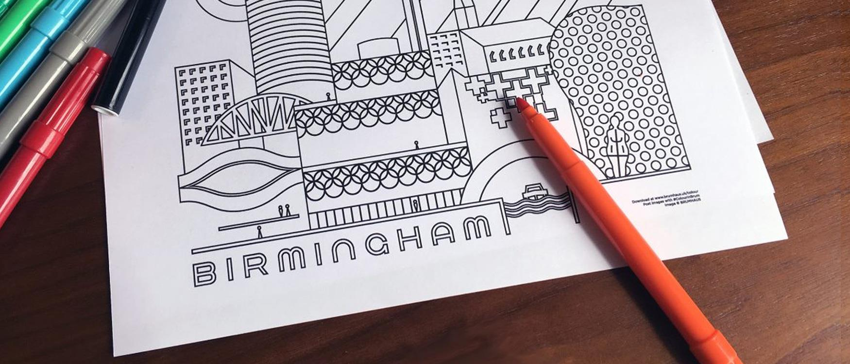 To keep the troops at home busy download Brumhaus free colouring-in sheets.