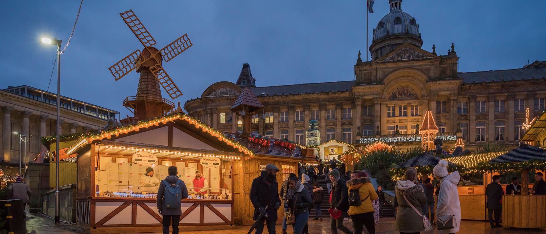 Save the date, Birmingham Frankfurt Christmas Market is back - 4 Nov - 23 Dec!