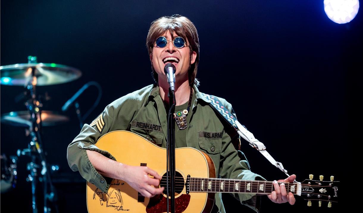 John Lennon tribute Reuven Gershon at The Night Owl