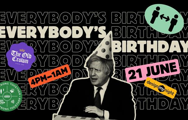 Everybody's Birthday with Heavy Beat Brass Band - June 21st Party at The Old Crown