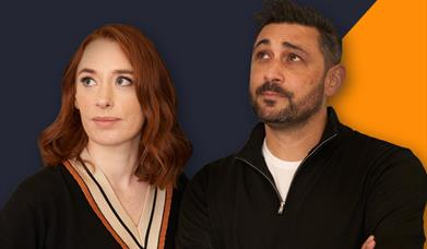Adam Rutherford and Hannah Fry