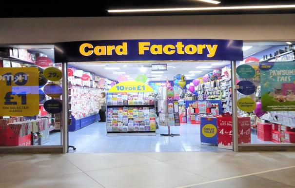 Card Factory - Bullring Link